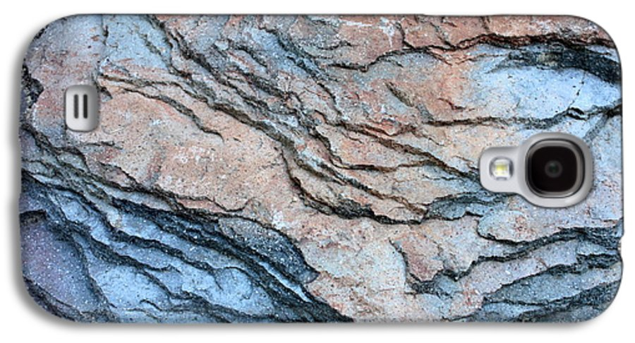 Nature Abstract Galaxy S4 Case featuring the photograph Tahoe Rock Formation by Carol Groenen