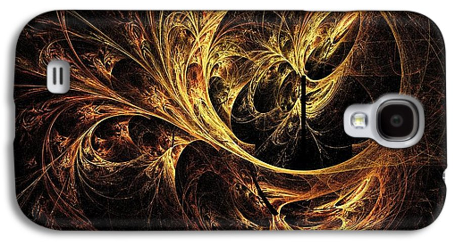 Tapestry Galaxy S4 Case featuring the digital art Tapestry by Elizabeth McTaggart