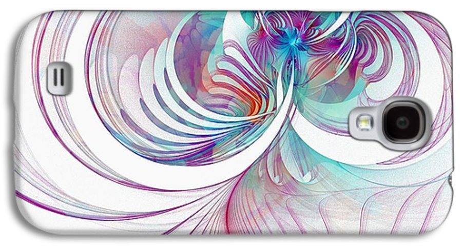 Digital Art Galaxy S4 Case featuring the digital art Tendrils 02 by Amanda Moore