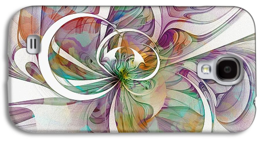 Digital Art Galaxy S4 Case featuring the digital art Tendrils 09 by Amanda Moore
