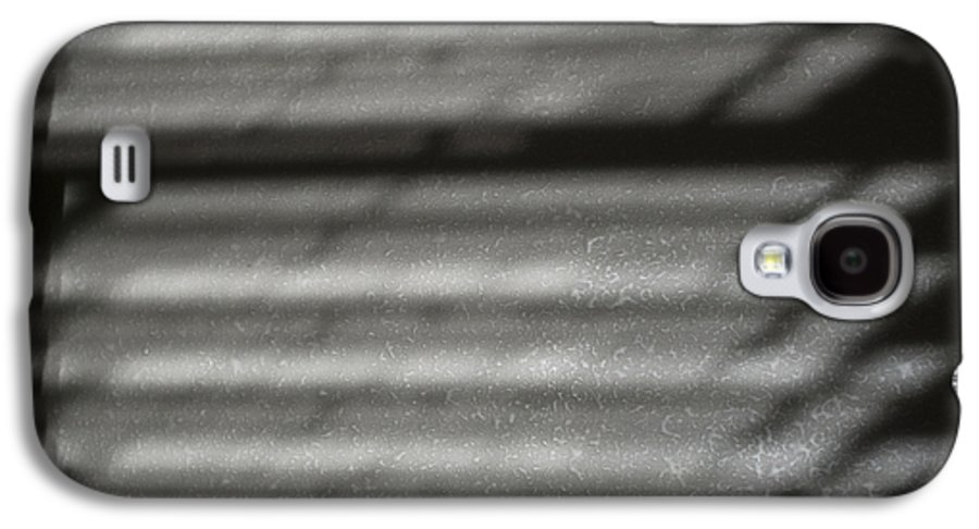 Abstract Galaxy S4 Case featuring the photograph Texture In The Shadows by Christi Kraft