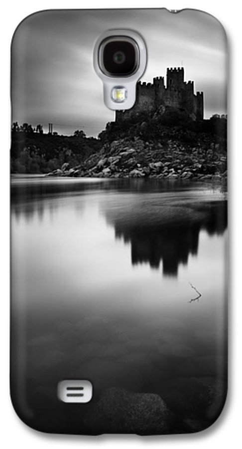 Castle Galaxy S4 Case featuring the photograph The Almourol Castle by Jorge Maia