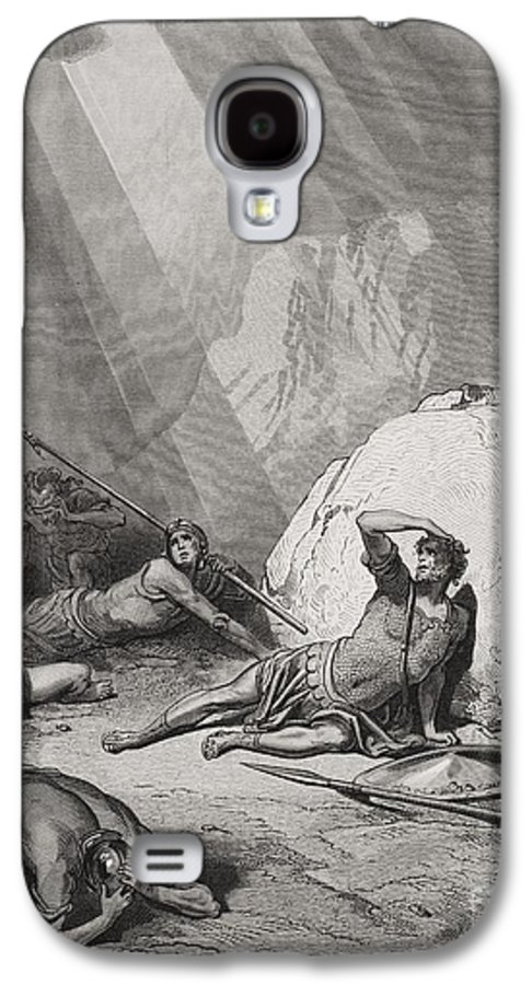 Saint Galaxy S4 Case featuring the painting The Conversion Of St. Paul by Gustave Dore