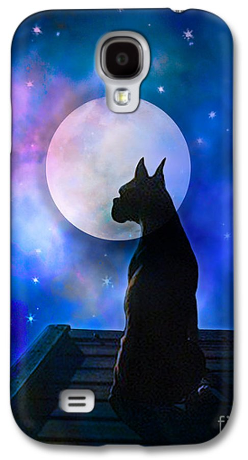 Dog Galaxy S4 Case featuring the digital art The Dock At The Edge Of The Universe by Judy Wood