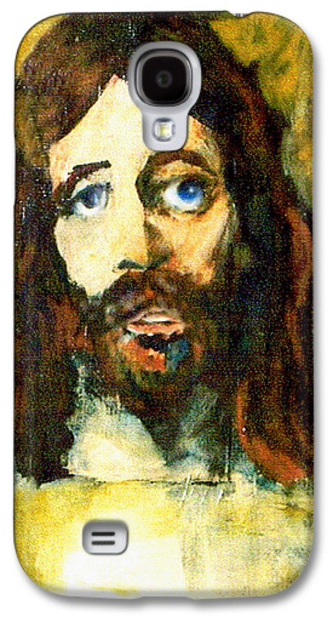 Jesus Christ Galaxy S4 Case featuring the painting The Galilean by Seth Weaver