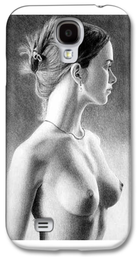 Pastel Galaxy S4 Case featuring the painting The Girl With The Glass Earring by Joseph Ogle