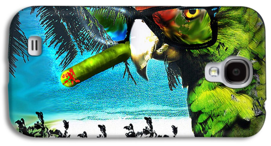 The Great Bird Of Casablanca Galaxy S4 Case featuring the digital art The Great Bird Of Casablanca by Seth Weaver