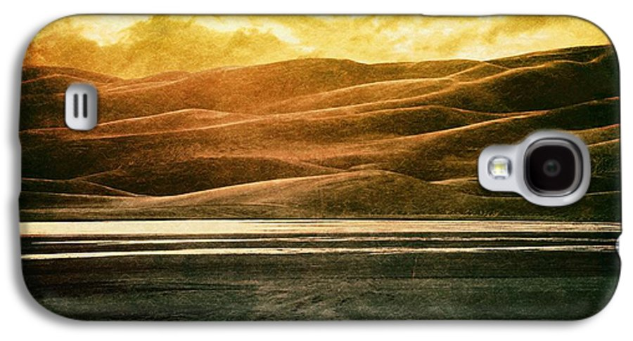 Brett Galaxy S4 Case featuring the digital art The Great Sand Dunes by Brett Pfister