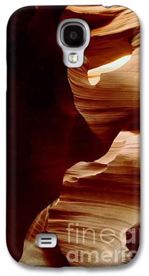 Landscape Galaxy S4 Case featuring the photograph The Heart Of Antelope Canyon by Kathy McClure