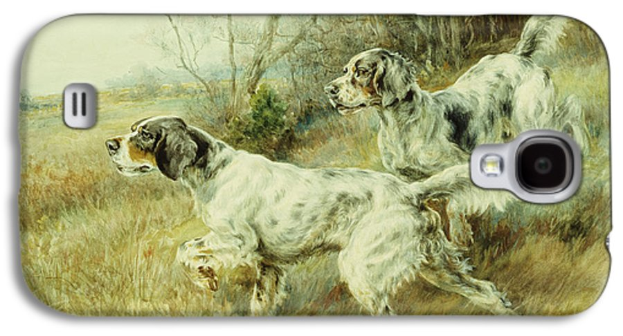 Alert Galaxy S4 Case featuring the painting The Hunt by Edmund Henry Osthaus