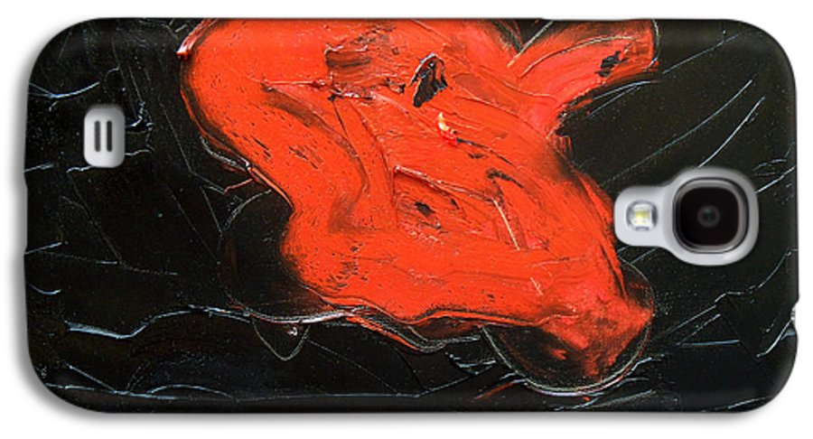 Surreal Galaxy S4 Case featuring the painting The Last Hope by Sergey Bezhinets