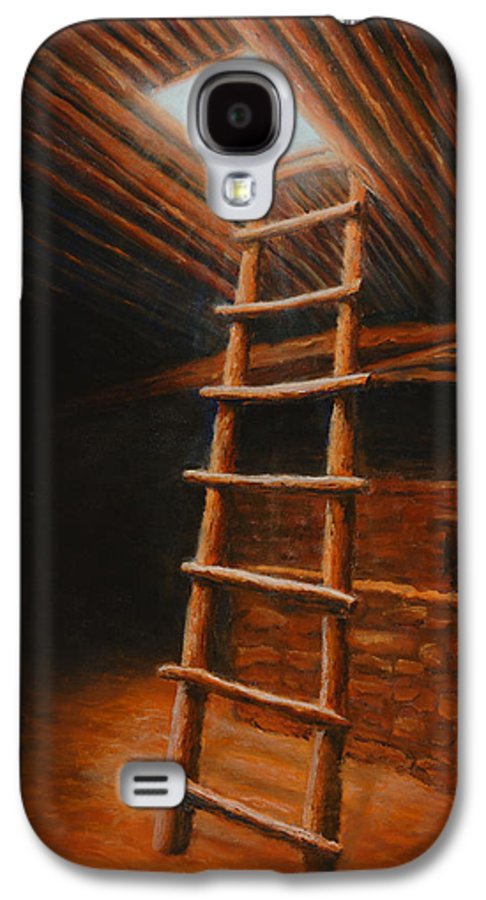 Kiva Galaxy S4 Case featuring the painting The Second World by Jerry McElroy