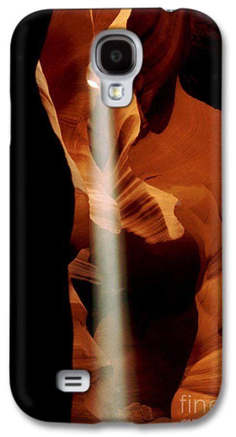 Antelope Canyon Galaxy S4 Case featuring the photograph The Source by Kathy McClure