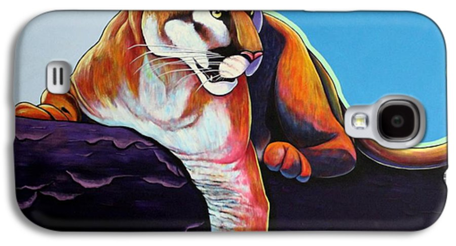 Wildlife Galaxy S4 Case featuring the painting The Toll Collector by Joe Triano