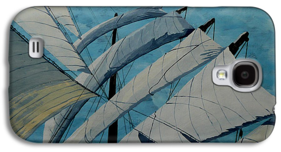 Sails Galaxy S4 Case featuring the painting The Tower Of Power by Anthony Dunphy