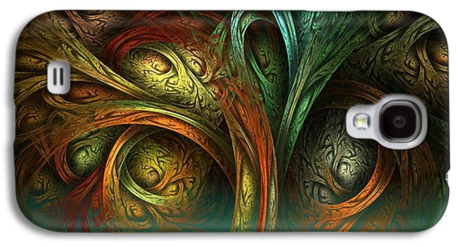 Digital Galaxy S4 Case featuring the digital art The Tree Of Life by Sandra Bauser Digital Art