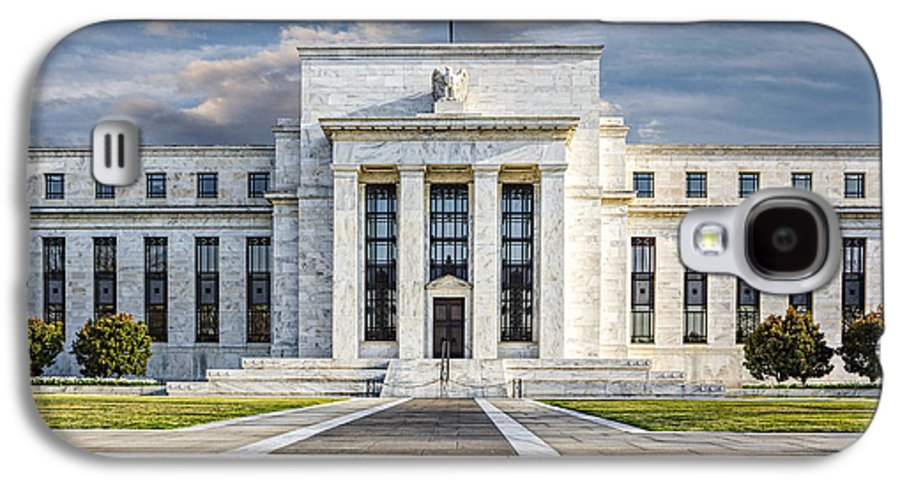 Eccles Building Galaxy S4 Case featuring the photograph The Us Federal Reserve Board Building by Susan Candelario