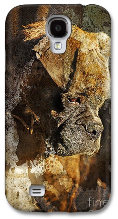 Dog Galaxy S4 Case featuring the digital art Thought Process by Judy Wood