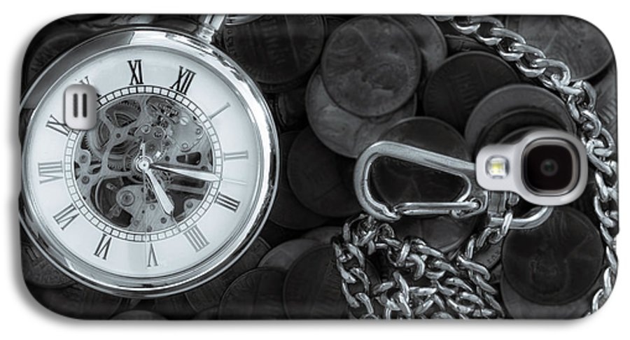 Corporate Art Galaxy S4 Case featuring the photograph Time And Money by Bob Orsillo