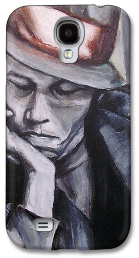 Celebrity Portraits Galaxy S4 Case featuring the painting Tom Waits One by Eric Dee