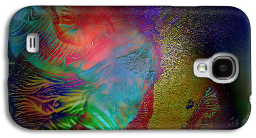 Surrealism Galaxy S4 Case featuring the digital art Topology Of Decalcomania by Otto Rapp