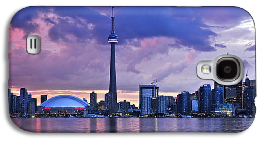 Toronto Galaxy S4 Case featuring the photograph Toronto Skyline by Elena Elisseeva