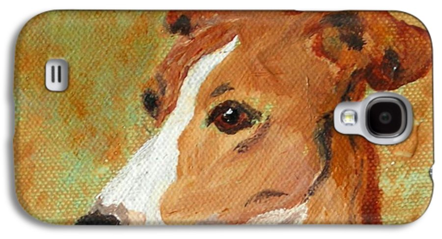 Acrylic Galaxy S4 Case featuring the painting Treasured Moments by Cori Solomon