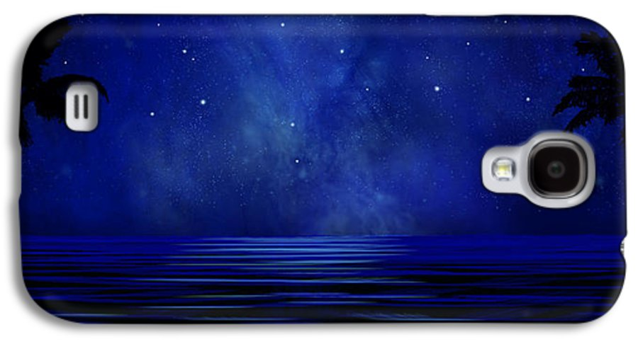 Tropical Dreams Galaxy S4 Case featuring the painting Tropical Dreams Wall Mural by Frank Wilson