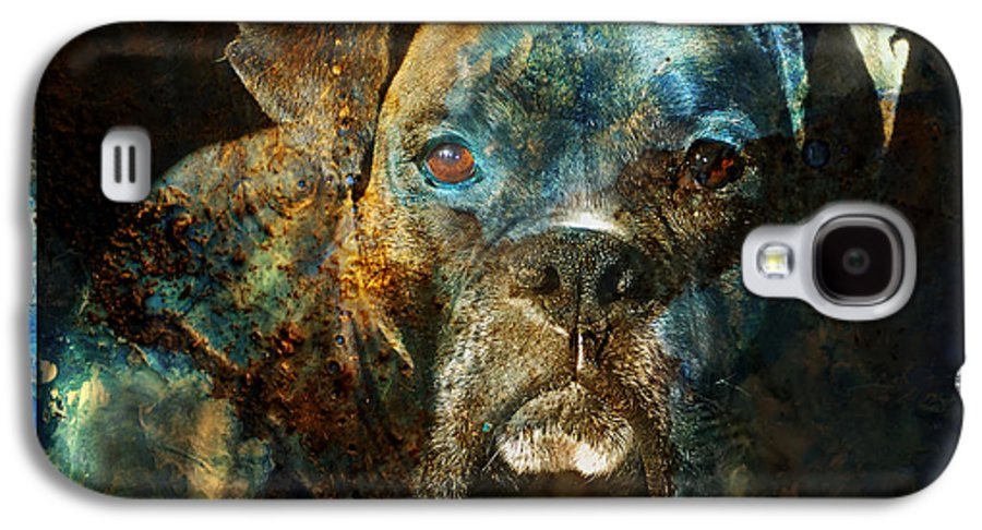 Dog Galaxy S4 Case featuring the digital art True Colours by Judy Wood