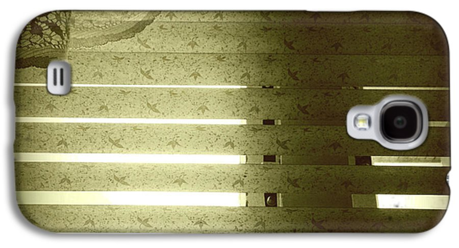 Concept Galaxy S4 Case featuring the photograph Venetian Blinds by Les Cunliffe