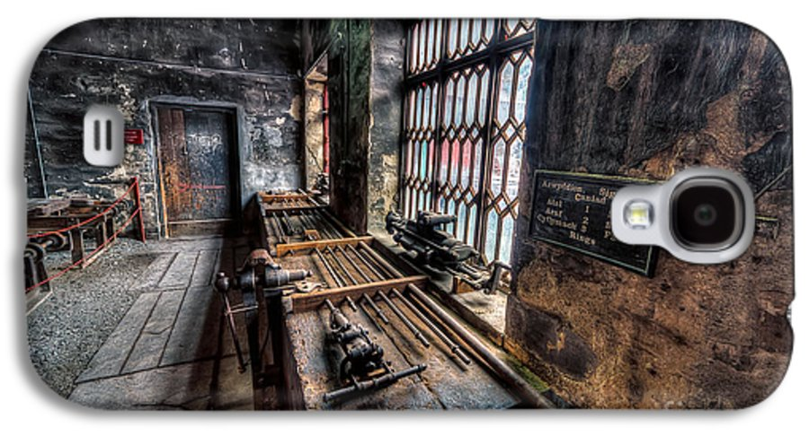 Architecture Galaxy S4 Case featuring the photograph Victorian Workshops by Adrian Evans