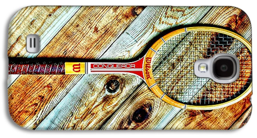 Tennis Galaxy S4 Case featuring the photograph Vintage Tennis by Benjamin Yeager