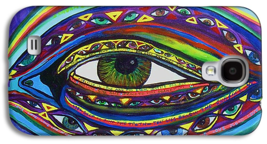 Vision Galaxy S4 Case featuring the painting Vision by J Andrel