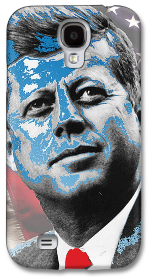 John F. Kennedy Galaxy S4 Case featuring the digital art Visionary by Jimi Bush