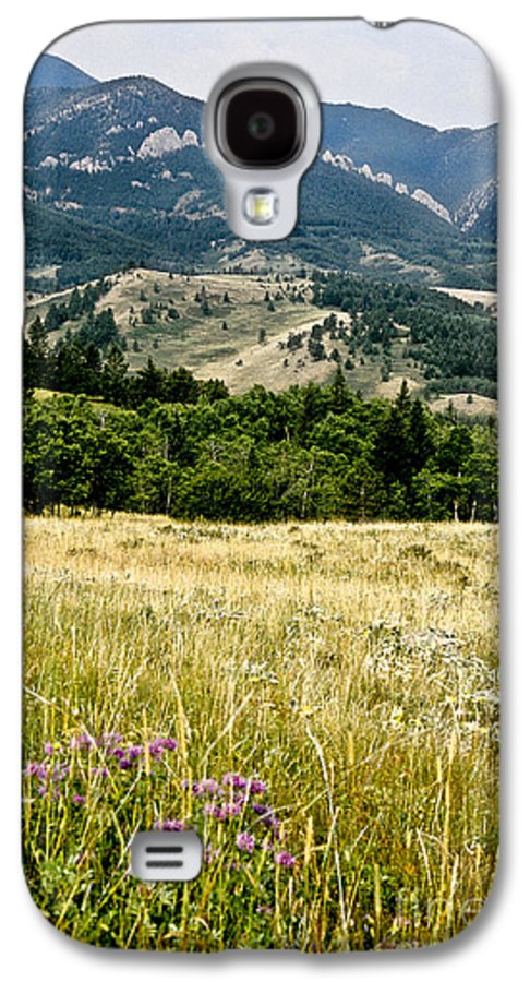 Wilderness Galaxy S4 Case featuring the photograph Washake Wilderness by Kathy McClure