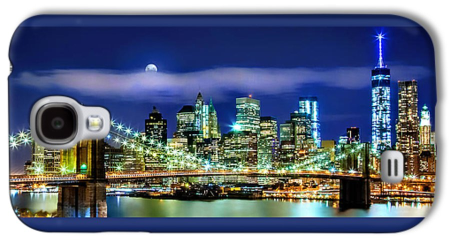New York City Galaxy S4 Case featuring the photograph Watching Over New York by Az Jackson