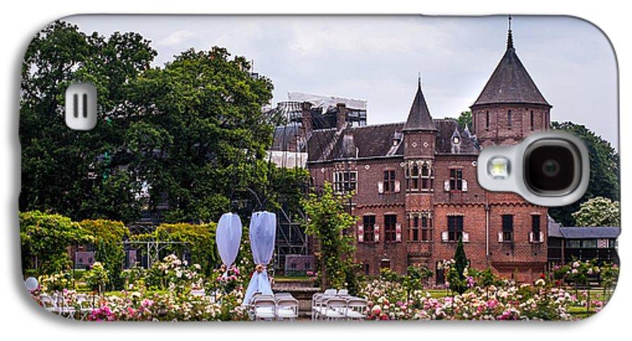 Utrecht Galaxy S4 Case featuring the photograph Wedding Setting In De Haar Castle. Utrecht by Jenny Rainbow