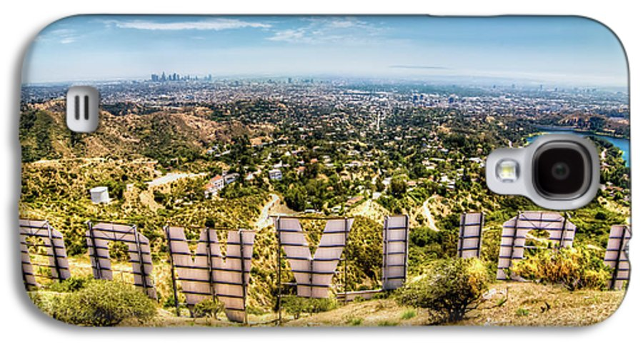 Actress Galaxy S4 Case featuring the photograph Welcome To Hollywood by Natasha Bishop