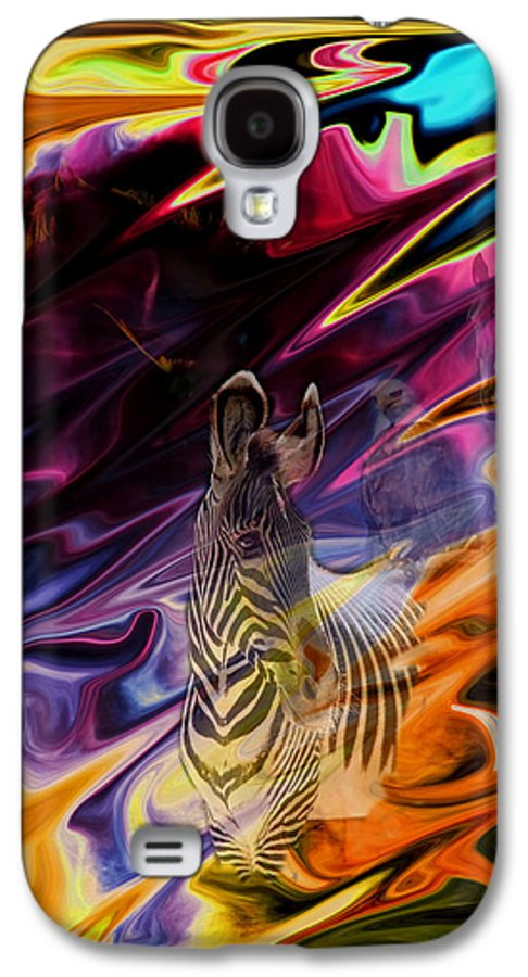 Abstract Galaxy S4 Case featuring the photograph Wild Places by Aidan Moran