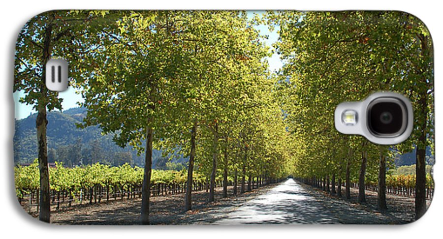 Napa Galaxy S4 Case featuring the photograph Wine Country Napa by Suzanne Gaff