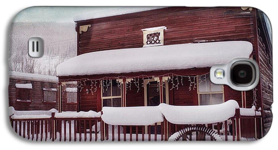 House Galaxy S4 Case featuring the photograph Winter Sleep by Priska Wettstein