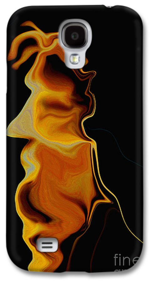 Old Man Galaxy S4 Case featuring the painting Wisdom Of Age by David Winson