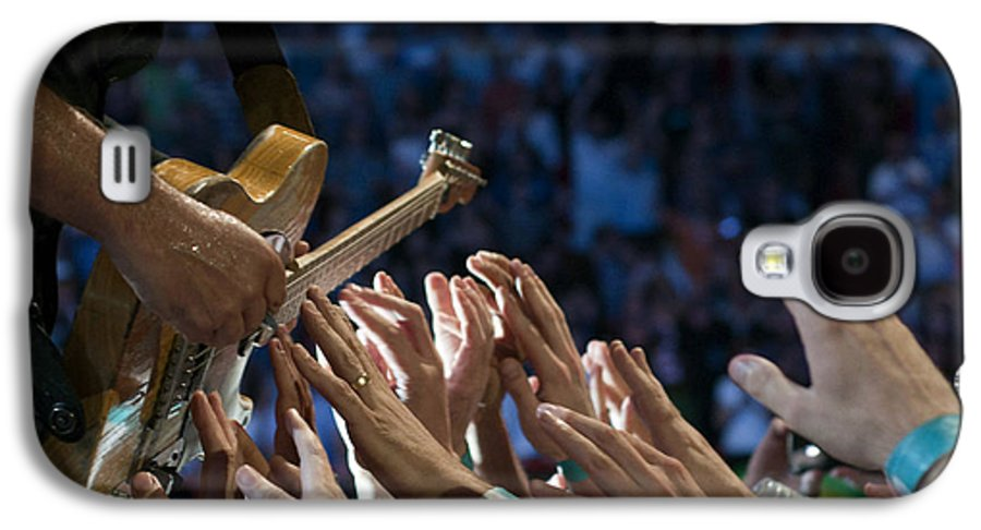 Springsteen Galaxy S4 Case featuring the photograph With These Hands by Jeff Ross