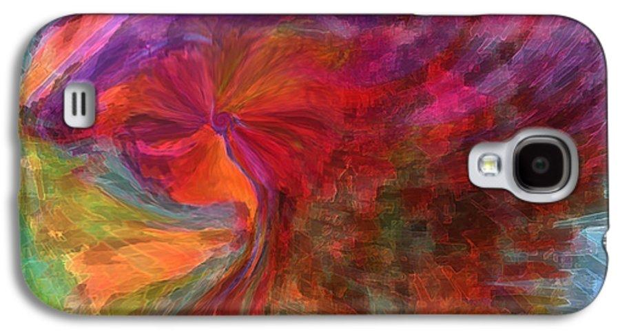 Woman Art Galaxy S4 Case featuring the digital art Women by Linda Sannuti
