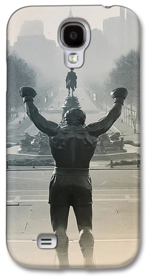 Rocky Galaxy S4 Case featuring the photograph Yo Adrian by Bill Cannon