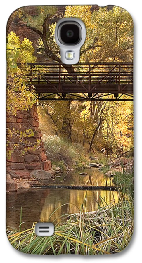 3scape Photos Galaxy S4 Case featuring the photograph Zion Bridge by Adam Romanowicz