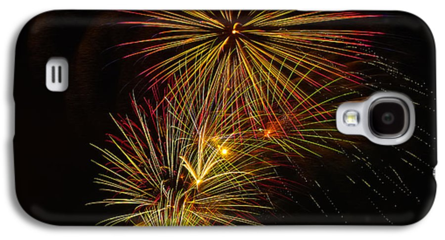 4th Of July Galaxy S4 Case featuring the photograph American Pinwheel by Joshua Dwyer