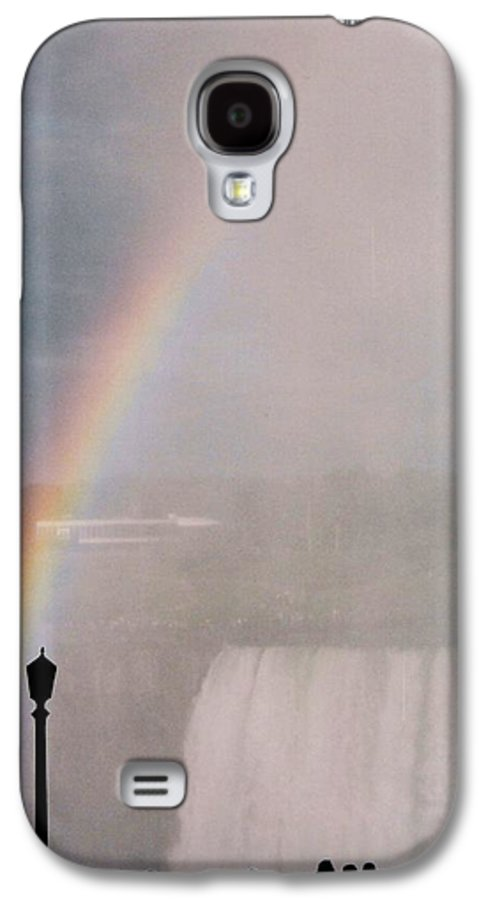 Waterfall Galaxy S4 Case featuring the photograph Rainbow Falls by Pharris Art