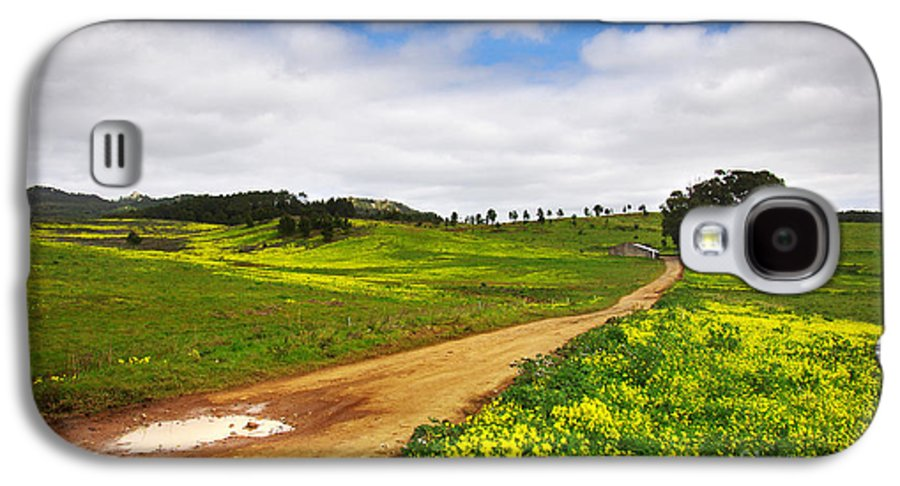 Autumn Galaxy S4 Case featuring the photograph Countryside Landscape by Carlos Caetano