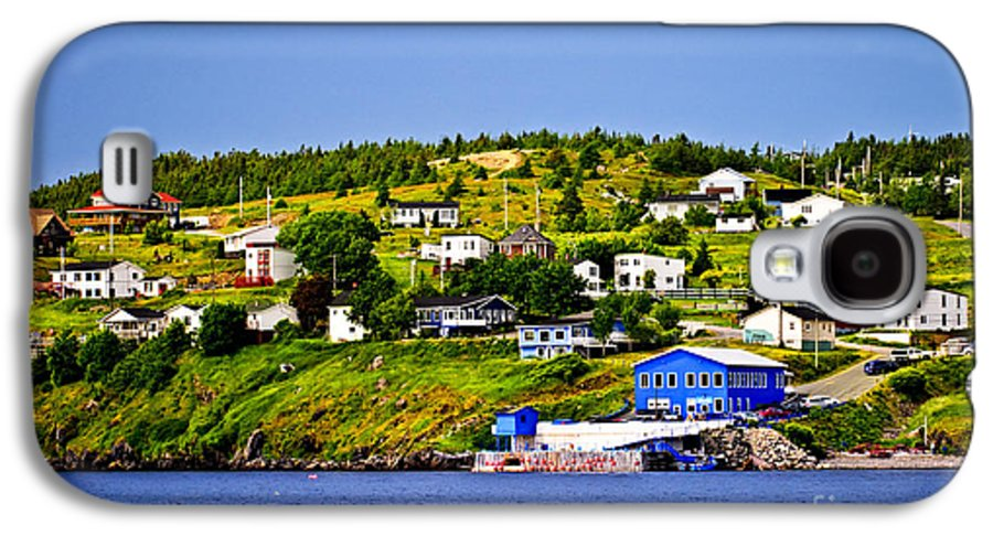 Fishing Galaxy S4 Case featuring the photograph Fishing Village In Newfoundland by Elena Elisseeva